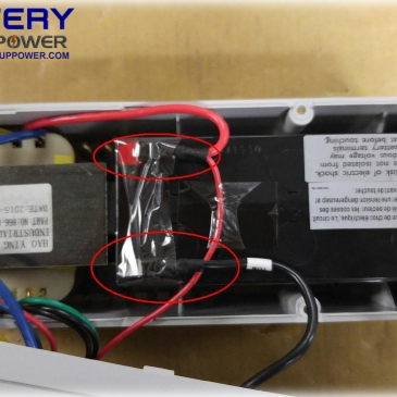 Battery Replacement For Battery Backup Power, Inc. Uninterruptible Power Supply (UPS)