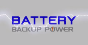 Battery Backup Power Storm Protection