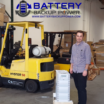 Battery Backup Power West Coast Distribution Center