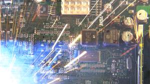 Circuit Board Explosion