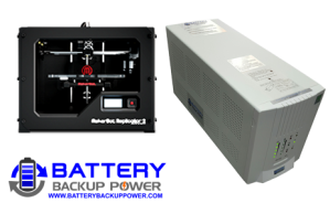 Uninterruptible Power Supply (UPS) For MakerBot Replicator 2 3D Printer