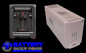 Uninterruptible Power Supply (UPS) For MakerBot Replicator Mini 3D Printer