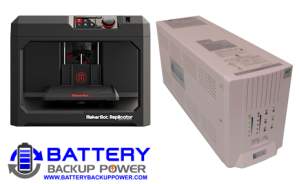 Uninterruptible Power Supply (UPS) For MakerBot Replicator 3D Printer