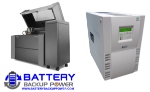 Objet 500 Connex2 3D Printer With Battery Backup Power UPS