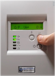 Output VA On Battery Backup Power Uninterruptible Power Supply (UPS) System