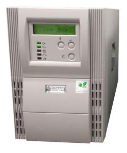 1000 VA (1 kVA) - 700 Watt (0.7 kW) Online Battery Backup Power Uninterruptible Power Supply (UPS)