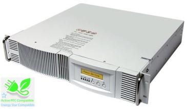 1000 VA (1 kVA) - 700 Watt (0.7 kW) Rack Mount Online Battery Backup Power Uninterruptible Power Supply (UPS)
