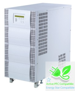 10000 VA (10 kVA) - 7000 Watt (7 kW) Online Battery Backup Power Uninterruptible Power Supply (UPS)