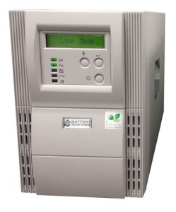 1500 VA (1.5 kVA) - 1050 Watt (1.05 kW) Online Battery Backup Power Uninterruptible Power Supply (UPS)