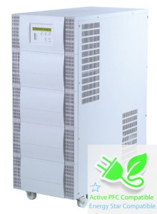 20000 VA (20 kVA) - 14000 Watt (14 kW) Online Battery Backup Power Uninterruptible Power Supply (UPS)
