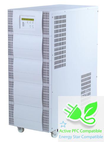 20000 VA (20 kVA) - 14000 Watt (14 kW) Online Battery Backup Power Uninterruptible Power Supply (UPS)
