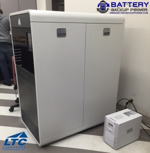 Battery Backup Power 3D Printer Backup At Lakeshore Technical College