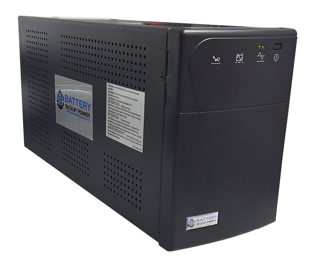the battery backup power information label battery backup power inc