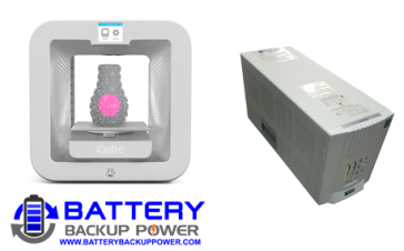 Battery Backup Power, Inc. Uninterruptible Power Supply (UPS) For 3D Systems/Cubify Cube 3rd Generation 3D Printer