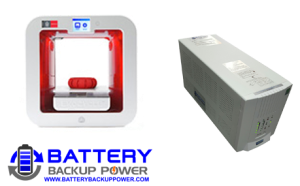 Battery Backup Power, Inc. Uninterruptible Power Supply (UPS) For 3D Systems/Cubify EKOCYCLE 3D Printer