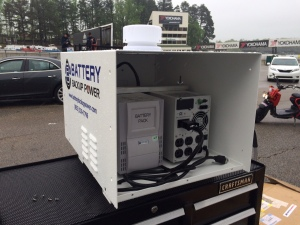 Battery Backup Power, Inc. MotoAmerica Outdoor Battery Power