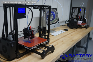 Loyola University New Orleans 3D Printing Education LulzBot TAZ 5