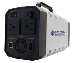 Battery Backup Power Concept Lithium Iron Phosphate Uninterruptible Power Supply Back Edited