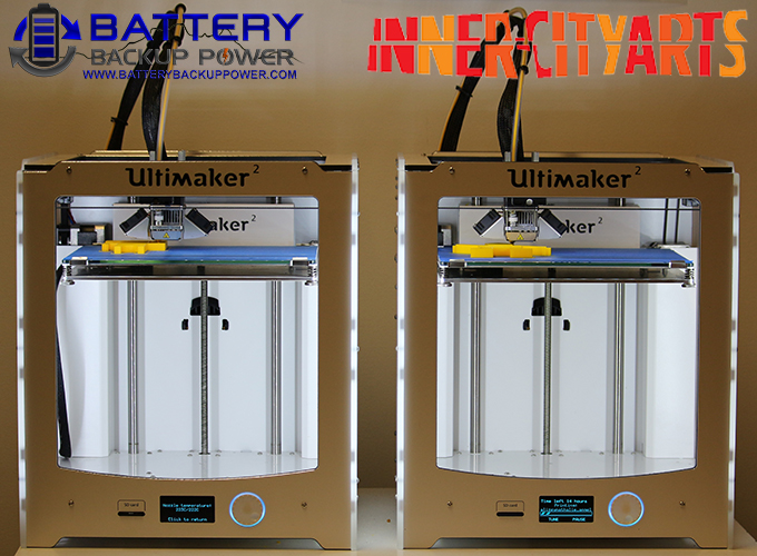 Inner-City Arts Ultimaker 3D Printers