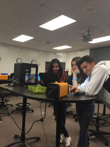 Massillon Students Learning About Additive Manufacturing