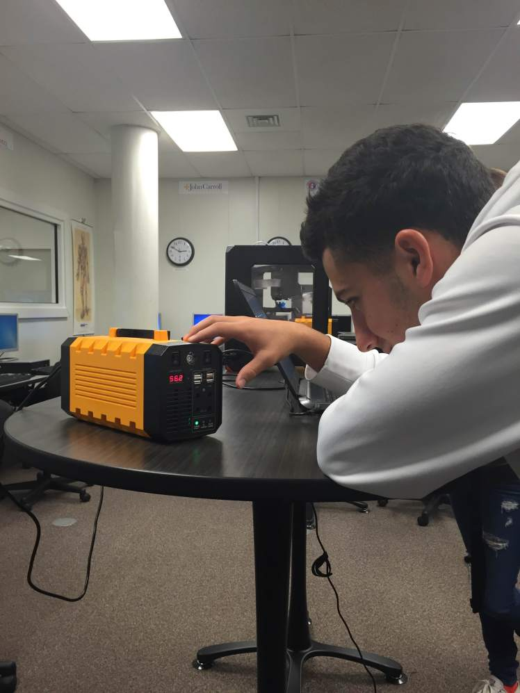 Massillon City School District Students Use Their 3d