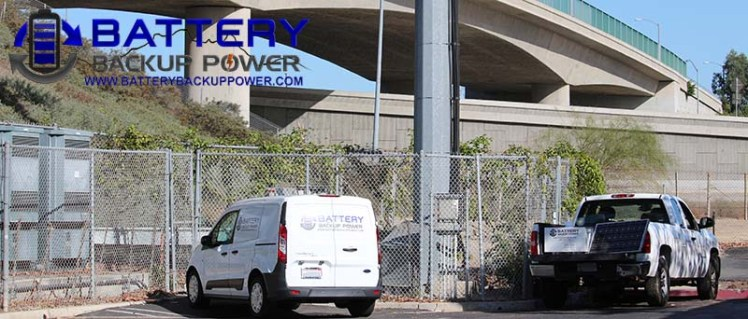 Battery Backup Power Freeway Critical Infrastructure Installation