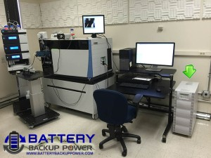 Uninterruptible Power Supply UPS Protecting Laboratory Instrument