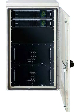 Small NEMA Enclosure With Uninterruptible Power Supply (UPS)
